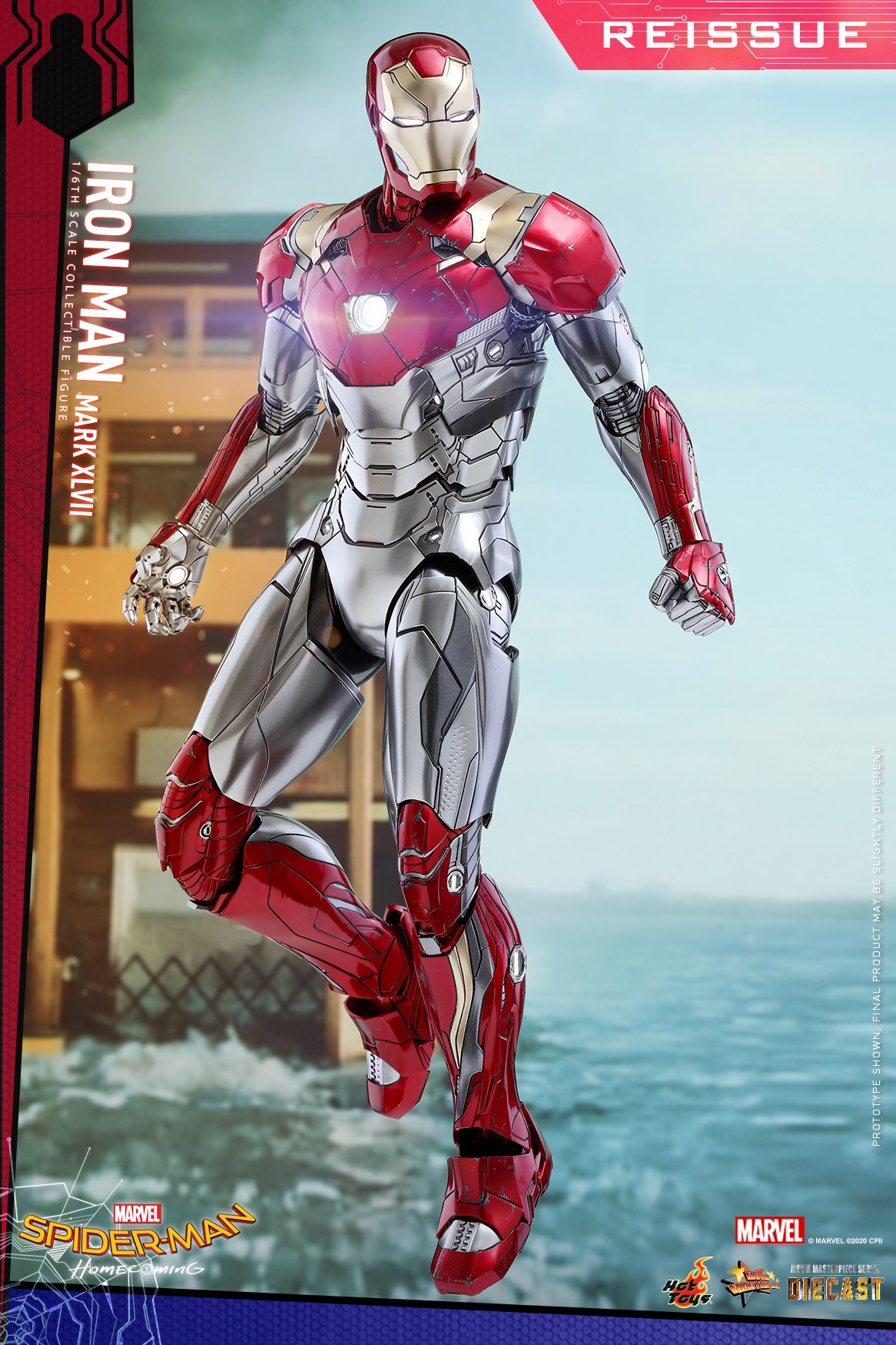 Pre-Order Hot Toys Marvel Iron Man MK XLVII Diecast Figure
